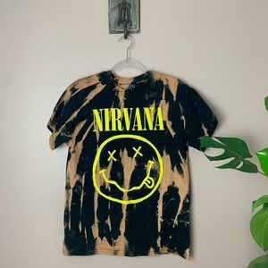 Nirvana tie dye shirt